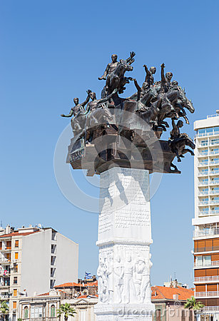 Republic Tree Monument, Izmir, Turkey