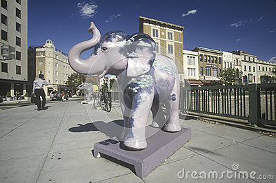 Republican elephant Editorial Image