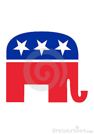 Republican Elephant Editorial Photography