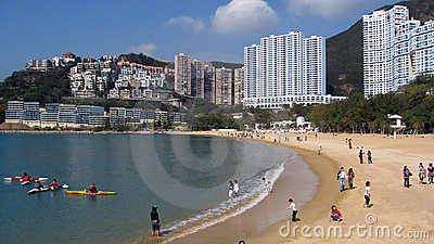 Repulse Bay in Hong Kong Editorial Stock Photo