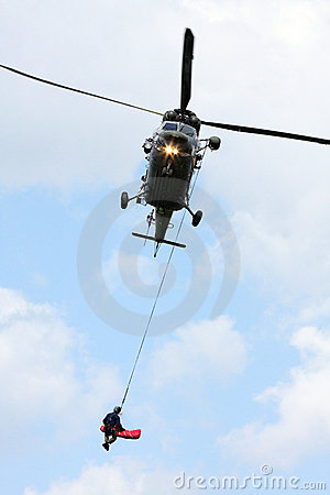 Free Rescue Helicopter Stock Image - 7822621