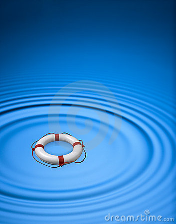Free Rescue Lifeline Ring Lifebuoy  Stock Images - 9407904