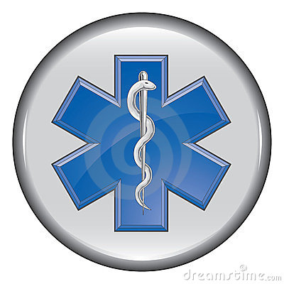 Rescue Paramedic Medical Button