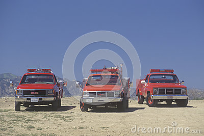 Rescue vehicles Editorial Stock Photo