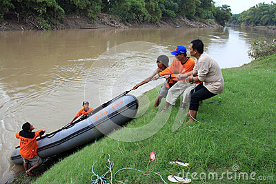 Rescuers Editorial Stock Photo