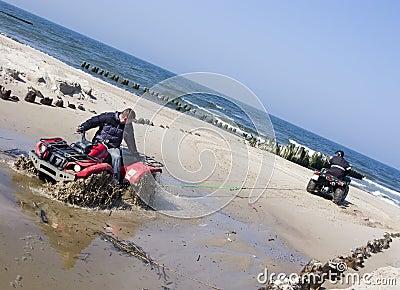 Rescuing a quad (ATV)