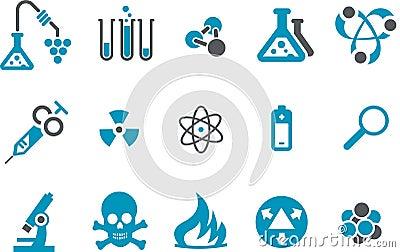 Research icon set