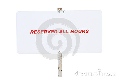 Reserved All hours