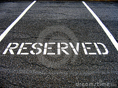 Reserved for car parking
