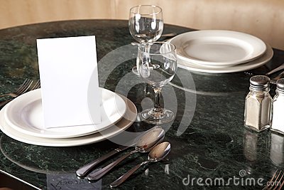 Tableware Reserved