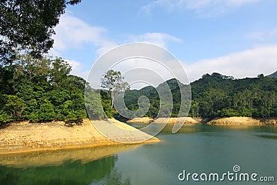 Reservoir in Hong Kong