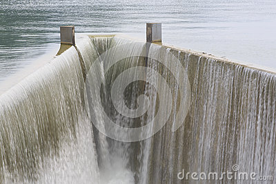 Reservoirabflusskanal