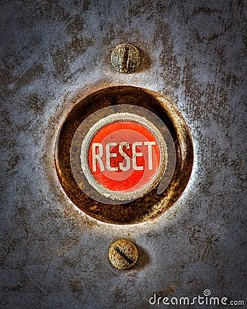 Free Reset The Grunge Stock Photo - 22959530