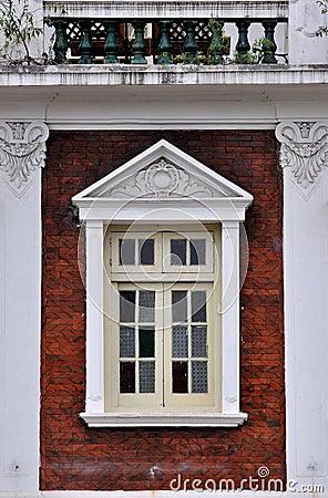 Residence balcony and window