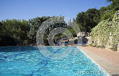 Residence hotel swimming pool