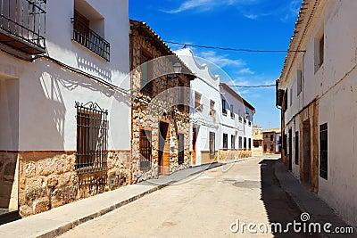 Residence houses in El Toboso