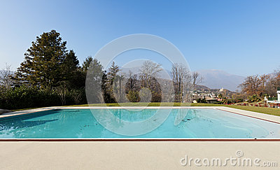 Residence outdoor, pool