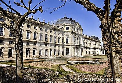Residence, Wuerzburg, Bavaria