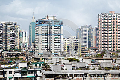 Residential area of Guangzhou