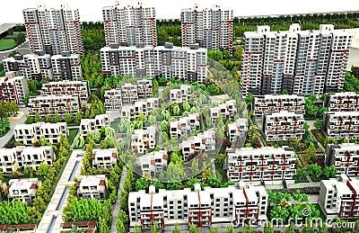 Residential area model