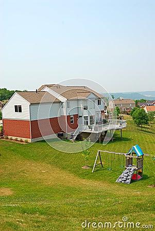 Residential Back Yard