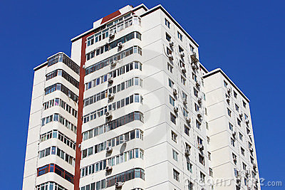 Residential building at beijing