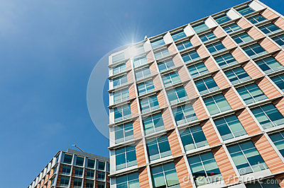 Residential building Stock Photo