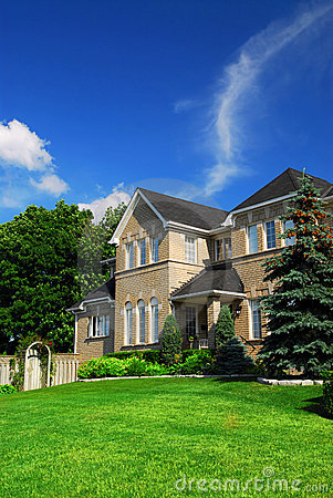 Free Residential Home Royalty Free Stock Photos - 2825018