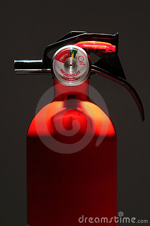 Free Residential Home Safety Fire Extinguisher Stock Photography - 7658682