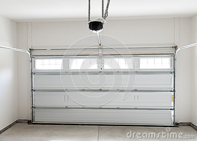 Residential house garage