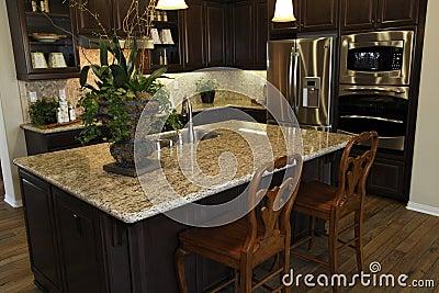 Residential kitchen.