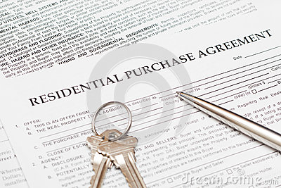 Residential Purchase Agreement Photography Image 29429082 – Residential Purchase Agreements