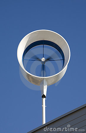 Residential Wind Turbine Stock Images Image 16541774