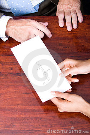Letter Of Resignation Stock Images - Image: 31605564