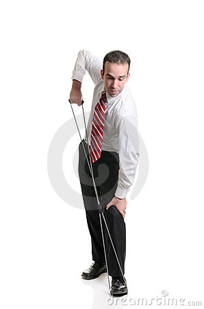 Resistance Band Stretching
