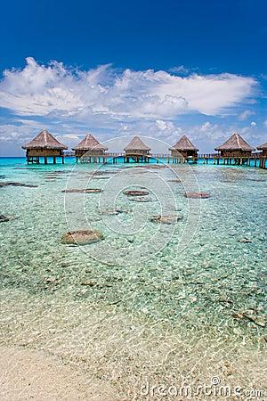 Free Resort Bungalow Luxury Resort Stock Image - 10460761