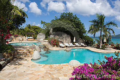 Resort in the Caribbean