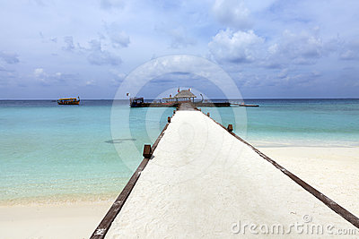 Resort dock