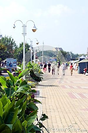 Resort esplanade