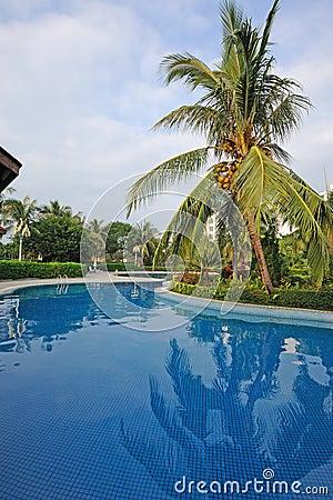Resort hotel in sanya