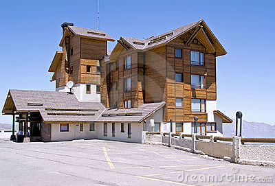Resort hotel at Vale Nevado