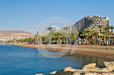 Resort hotels in Eilat, Israel