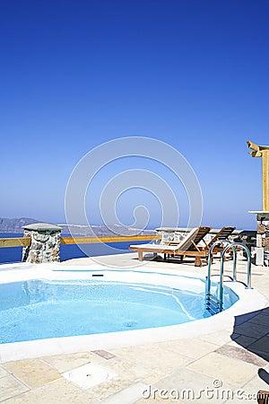 Resort, Santorini Island,Greec