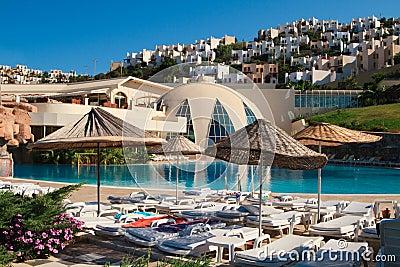 Resort scene