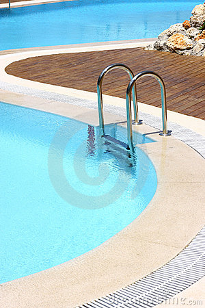 Resort Swimming Pool Area Stock Photo - Image: 2868490