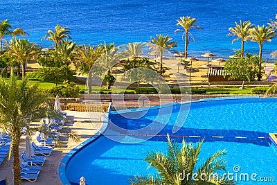 Resort Swimming pool on the se