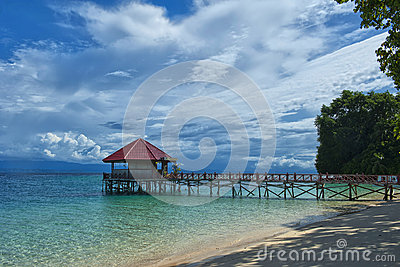 Resort Tropical Paradise Beach Ocean Sea Crystal Water Clear San