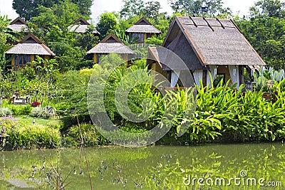 Resort in the tropics