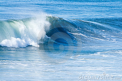 Ressaca e ondas do oceano
