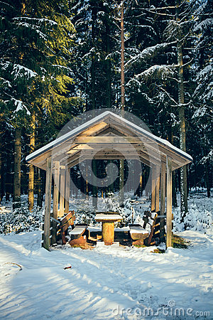 Free Rest Area In The Forest II Stock Photo - 68645440